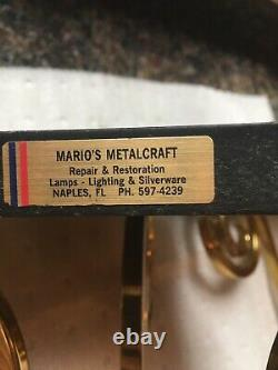 Wall Shelves-naples, Florida Marios Metalcrafters Wall Shelves, Set Of 2