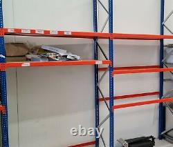 Warehouse Racking and Shelving Heavy-Duty Large Unit Used near-perfect condition