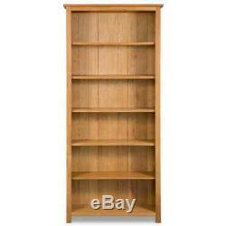 Wooden Bookcase Shelf Bookshelf Storage Shelving Home Office Display 3/5/6Tier