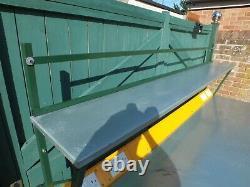 Work Bench Very Heavy Duty 240cm X 76cm Power 240v, Cupboard, Shelf, RRP £2400
