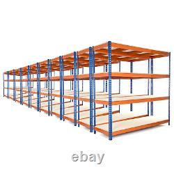 10 X 4 Tier Racking/garage Shelfing Unit/metal Racking Heavy Duty Steel