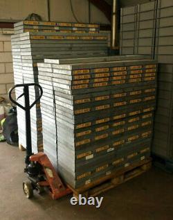 1200 X 400 X 2000 Heavy Duty Metal Garage Warehouse Étagère Racking 35 Uprights