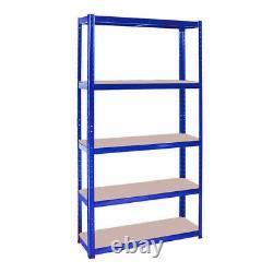 150x70x30cm 5 Niveaux De Stockage Lourd-racker Blue-shelving Boltless Garage Ukdc