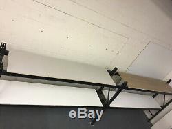 2 Baies Heavy Duty À Palettes, Conteneurs Étagères, Garage Atelier Rayonnage