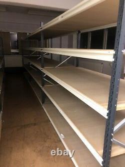 2 X 5 Tier 3 Bay Heavy Duty Garage Workshop Storage Racking Shelving Bolt Moins