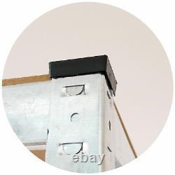 3 Racking Bays 5 Tier Sans Boulon Unité De Rayonnage De Garage Rack De Stockage Lourd