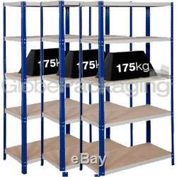 3 X Baies De Rangement Industriel De Rangements Industriels Pour Bureau De Garage D'entrepôt
