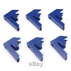 3 X Étagères Garage Étagère Rayonnage Emboîtable Robustes Étagère De Rangement Bleu