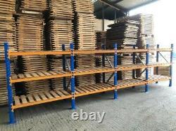 4 Bays Industrial Shelving Pallet Racking Par Vpm Racking Super Heavy Duty