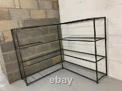 4tier Metal Shelving Unit Storage Sur Mesure, Soudé Professionnellement, Laqué