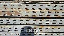 5 Baies Heavy Duty Lien 68 Palettes De Stockage Racking Étagères X 2,7m 0,9m X 2,5m
