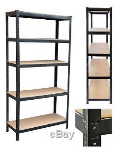 5 Niveau De Stockage En Rack Affichage Robuste Étagère 1800x900x400 Étagère Présentoir