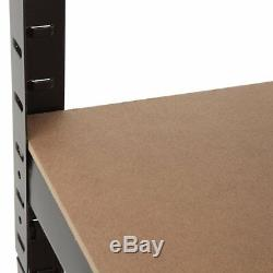 5 Tier Heavy Duty Angle D'étagère Rack Magasin De Rangement Étagères Utilitaire Accueil
