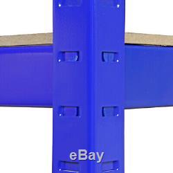 5 X Étagères De Garage Étagère Rayonnage Emboîtable Robuste Étagère De Rangement De 90 CM