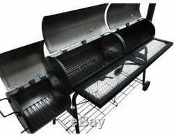 American Style Bbq Fume 2 Chambres Fumeurs, 2 Grilles, 2 Étagères Heavy Duty