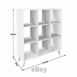 Argos Accueil Skandi 3 X 3 Unité De Stockage Blanc Bicolore