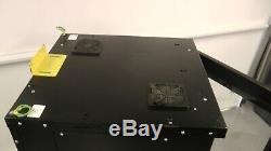 Armoire Serveur Comms Robuste 4 À Traction Étagères Sur Roulettes Avec Ventilateur De Refroidissement