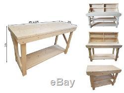 Atelier De Travail En Bois Acorn Garage 4ft À 8ft, Atelier, Table De Travail Résistante De Diy
