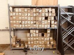 Atelier Entrepôt De Stockage Utilisé Longspan Racking Rayonnage Robuste Container