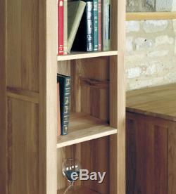 Baumhaus Mobel Oak Grand Chêne Étroit Bibliothèque Mobel Collection Chêne Massif