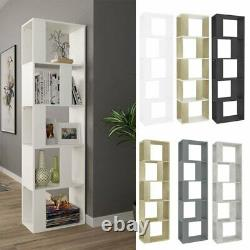 Book Cabinet Room Divider Bookcase Storage Display Corner Rack Meubles En Bois