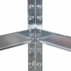 Coin Racking Garage Rayonnage 5 Unité De Niveau Industriel Étagères De Rangement Heavy Duty