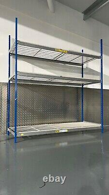 Commercial / Domestique Heavy Duty Racking Longspan Dexion 2,4 M X 2,2 M X 0,6 M