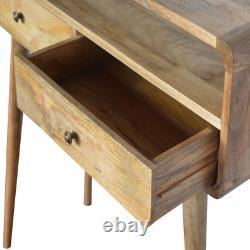 Console À La Main Table En Bois Naturel Finition Hallway Cabinet Latéral Unité À La Main