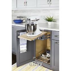 Cuisine Heavy Duty Chrome Cabinet Mixer Appliance Lift Mechanism Fixer À L'étagère