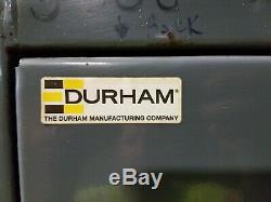 Durham 2 Porte 4 Tablette Robuste Verrouillage Cabinet 78 X 48 X 24