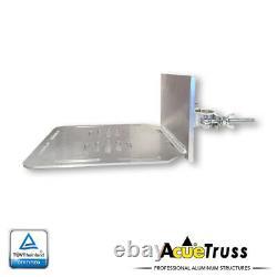 Éclairage D'acue Aluminium Lourd De Service O Étagère De Serrage Carré Truss