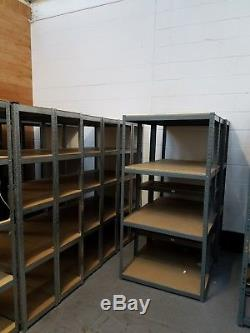 Entrepôt De Garage En Acier Résistant De Rayonnage De Rayonnage En Acier Résistant De 5 Niveaux