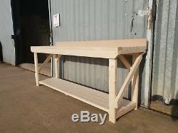 Etabli À L'arrière Mdf Up Stand Table En Bois Lourd Garage Industriel Duty