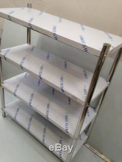 Étagère En Acier Inoxydable Commercial Tablettes De Rangement Racks Heavy Duty Cuisine