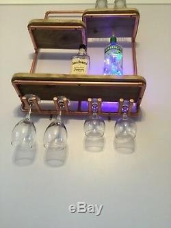 Étagère En Cuivre / Mini-bar
