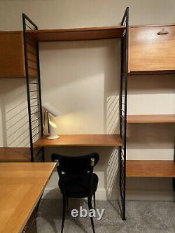 Étagère Ladderax Desk 3 Bay System 1960s Midcentury. Bonne Affaire Pour La Vente Rapide
