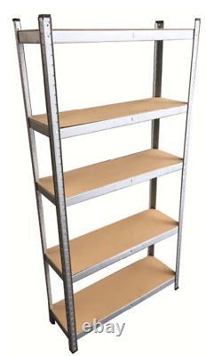 Étagères De Garage Étagères 5 Niveaux Racking Boltless Heavy Duty Storage Shelf