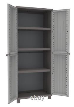 Étagères De Jardin En Plastique Haut De Gamme Étagères De Jardin Extérieur Utility Cabinet Box