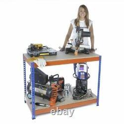 Garage Banc De Travail 900mm H X 1500mm L X 600mm D Extra Heavy Duty