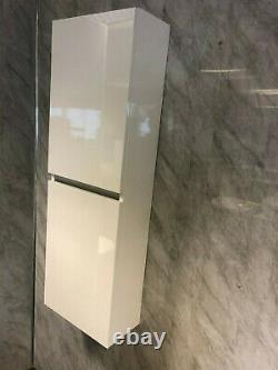 Grand Garçon Blanc Mur Brillant Hung Cuisine De Salle De Bains De Stockage 100% Imperméable À L'eau