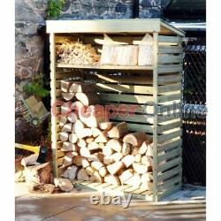 Grand Magasin En Bois De Notation De Jardin / Hangar De Stockage Avec L'étagère 156cm X 117cm