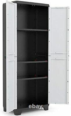 Grande Boîte Extérieure D'armoire De Rangement De Jardin Extérieur D'étagères Utilitaires