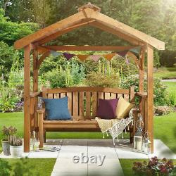 Grillades En Bois Bbq Shelter Pavilion 2 Side Shelves Garden Outdoor Patio Party