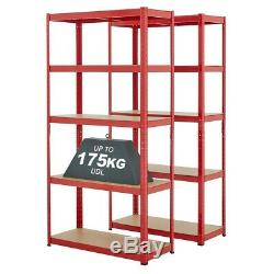 Heavy Duty 5 Métal Niveau Rayonnage Emboîtable Racking Garage Stockage