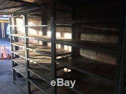 Heavy Duty 8 Sections Dexion Rayonnage