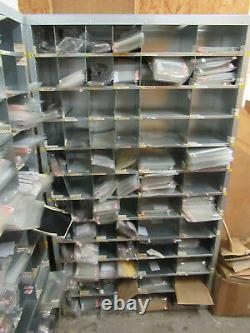 Heavy Duty Acier Pigeon 72 Trous Rayonnage Racking Amovible Intercalaires