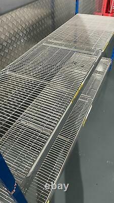 Heavy Duty Boltless Double Bay Hilo Rackplan Racking Longspan 400kg 2.4m X 1.2m