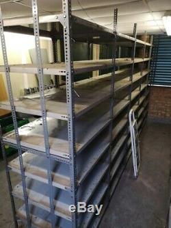 Heavy Duty Métal Garage Bureau Rangement Solide Grande Unité De Rayonnage Racking