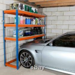 Heavy Duty Over Car Garage Shelving Unit, Garage Storage 1980h X 2134w X 610d MM