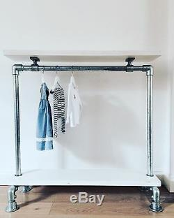Industrial Style Enfants Vêtements Rail Étagère / Armoire / Solution De Stockage